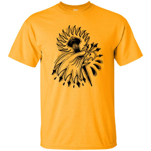 373 - Tattoos Art - Bald - Adult Unisex T-Shirt