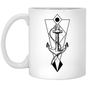 Anchor - Tattoos Art - 11 oz. White Mug - 364