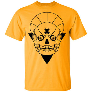 559 - Tattoos Art - Skull bw - Adult Unisex T-Shirt