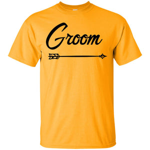 2310B - RTP - Wedding Quotes - Groom - Adult Unisex T-Shirt
