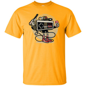 182 - RTP - Roach Graphics - Let's Play-01 - Adult Unisex T-Shirt