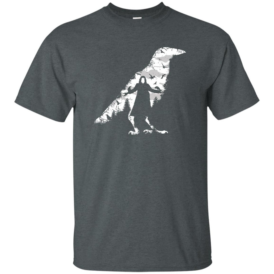 89 - RTP - Caffein Art - The Crow - Horror Art - Adult Unisex T-Shirt