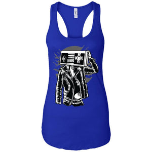 Street Gamers - Gaming Art - Women's Racerback Tank Top