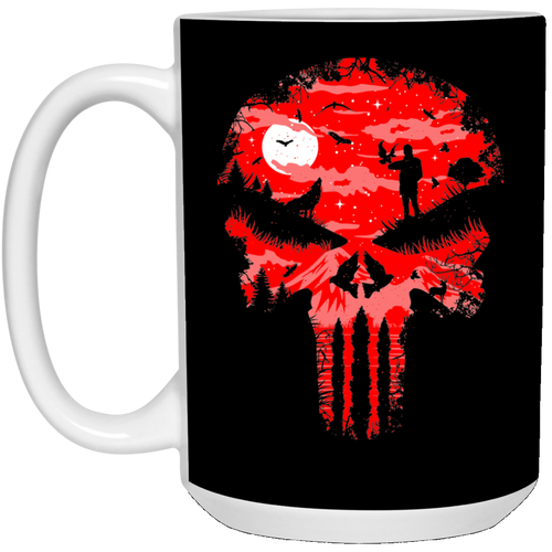 Stand And Bleed - Horror Art - 15 oz. White Mug - 86