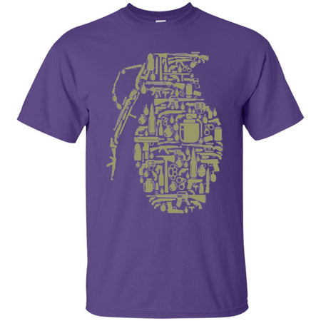 48 - RTP - Caffein Art - Grenade - Weapons Art - Adult Unisex T-Shirt
