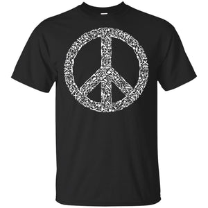 95 - RTP - Caffein Art - War Peace - Weapons Art - Adult Unisex T-Shirt