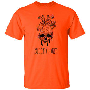 383 - Tattoos Art - Bleed it - Adult Unisex T-Shirt