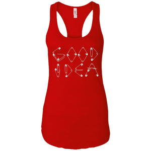 Good Idea - Doodle Art - Women's Racerback Tank Top