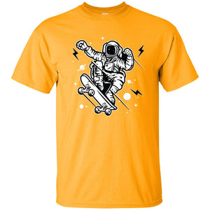 223 - RTP - Roach Graphics - Skate Space-01 - Adult Unisex T-Shirt