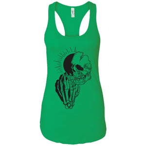 Pray 1 - Tattoos Art - Women's Racerback Tank Top