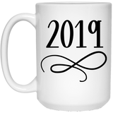 2019 - Holidays Art - 15 oz. White Mug - 2017