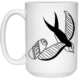 Beer - Tattoos Art - 15 oz. White Mug - 380