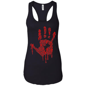 Hand Of Zombies - Horror Art - Women's Racerback Tank Top