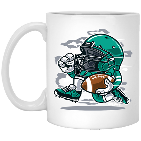 Football Player - 11 oz Ceramic Mug - 148