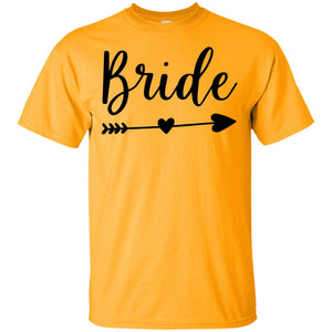 2307B - RTP - Wedding Quotes - Bride - Adult Unisex T-Shirt