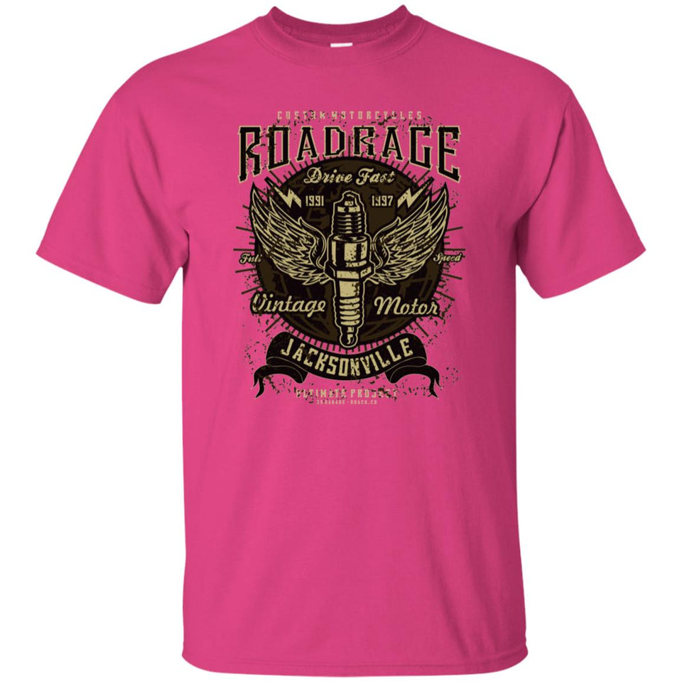 214 - RTP - Roach Graphics - Road Rage-01 - Adult Unisex T-Shirt
