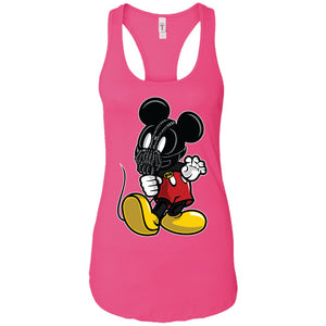 Mickey Bane - Movies Art - Women's Racerback Tank Top
