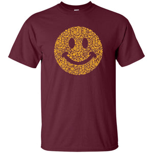 82 - RTP - Caffein Art - Smiley - Doodle Art - Adult Unisex T-Shirt