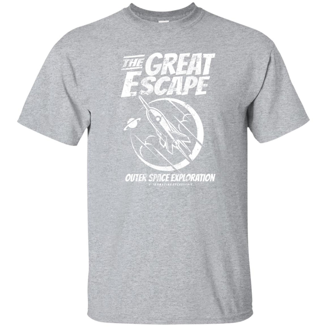 259 - RTP - Roach Graphics - The Great Escape-01 - Adult Unisex T-Shirt