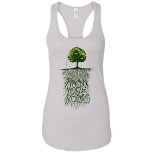 Know Your Roots - Vintage Art - Women's Racerback Tank Top