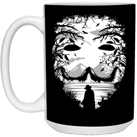The Mask - Horror Art - 15 oz. White Mug - 90