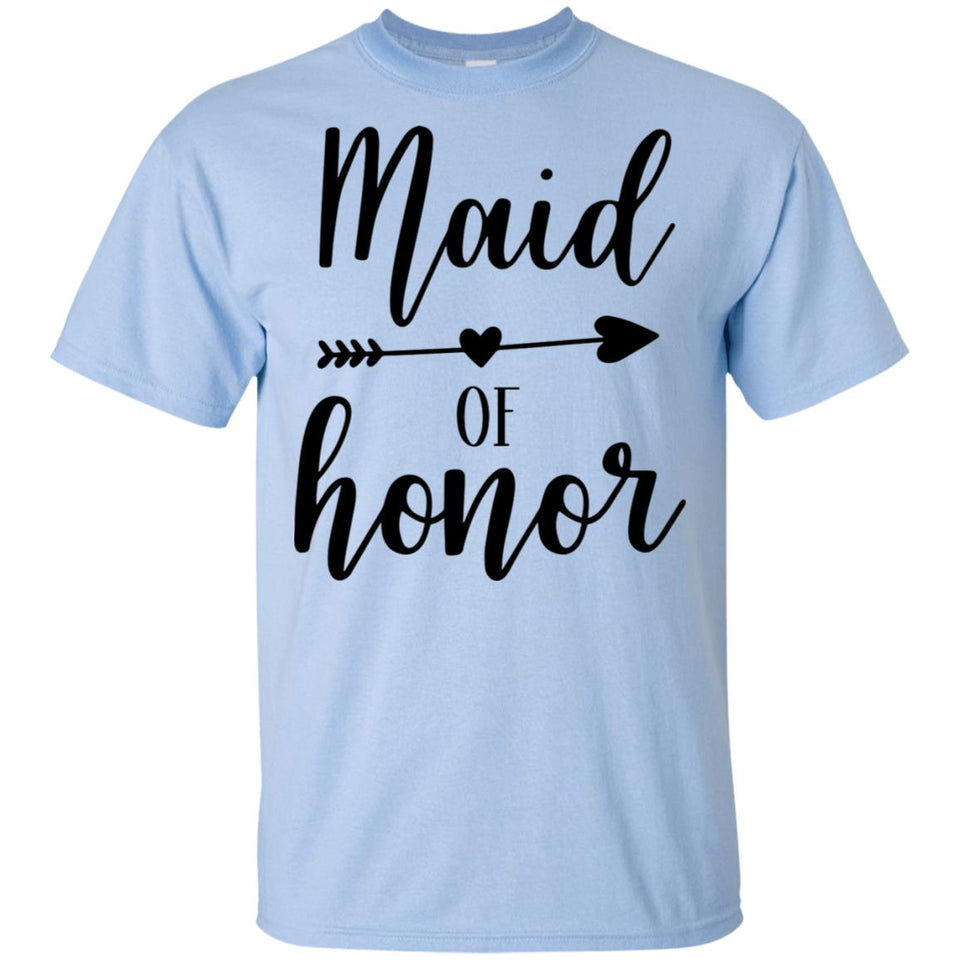 2319B - RTP - Wedding Quotes - Maid-Of-Honor - Adult Unisex T-Shirt