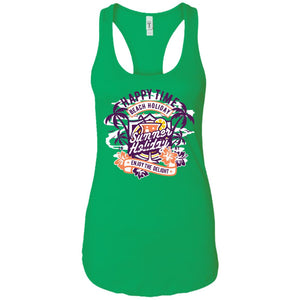 Happy Time - Happy Art - Women's Racerback Tank Top