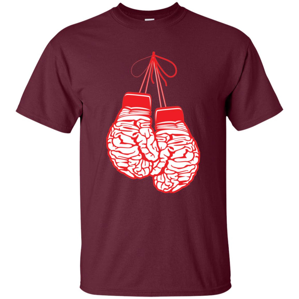 13 - RTP - Caffein Art - Brain Gloves - Doodle Art - Adult Unisex T-Shirt