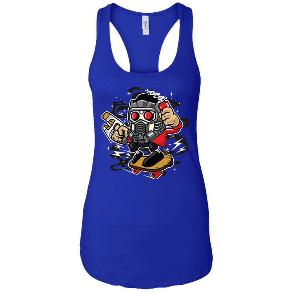 Skate Lord - Street Stly Art - Women's Racerback Tank Top