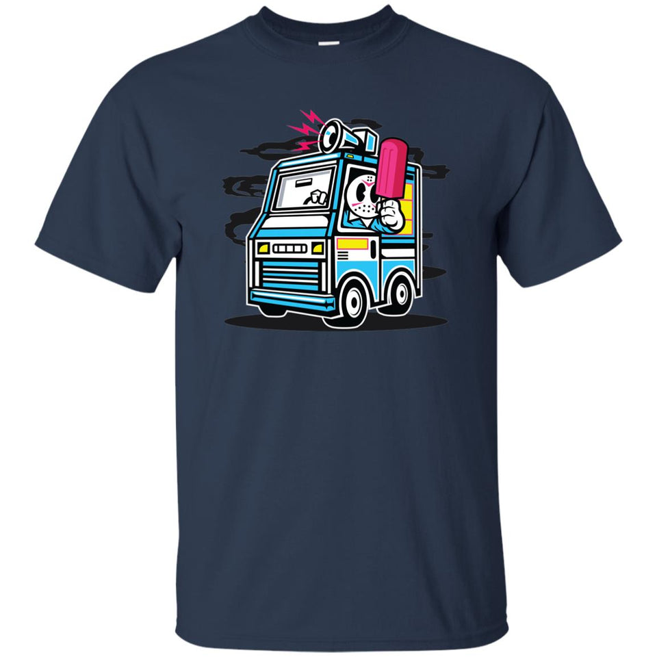 169 - RTP - Roach Graphics - Ice Cream Truck-01 - Adult Unisex T-Shirt