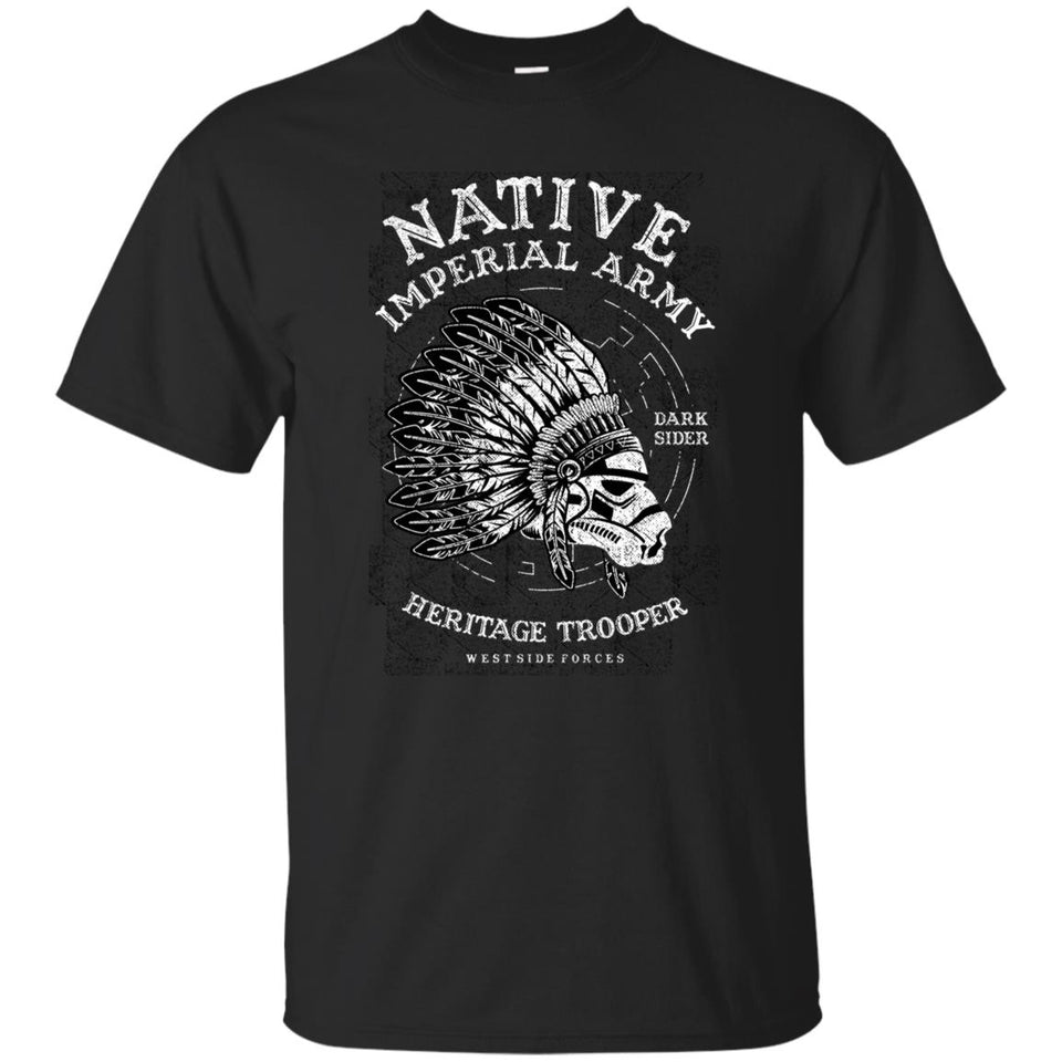 198 - RTP - Roach Graphics - Native Trooper - Adult Unisex T-Shirt