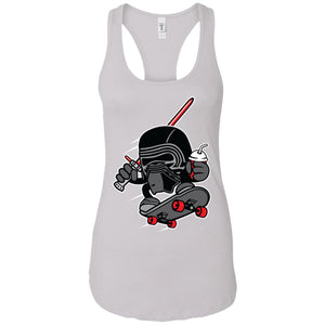 Kylo Skate - Movies Art - Women's Racerback Tank Top