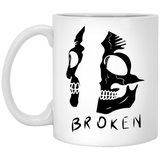 Broken - Tattoos Art - 11 oz. White Mug - 389