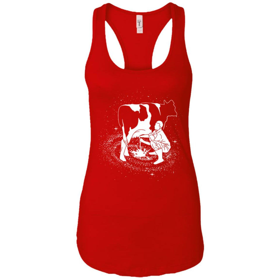 Milky Way - Animal Art - Women's Racerback Tank Top