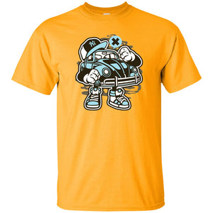245 - RTP - Roach Graphics - Street Beetle-01 G200 Gildan Ultra Cotton T-Shirt