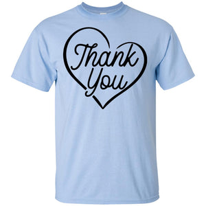 2329B - RTP - Wedding Quotes - Thank-You - Adult Unisex T-Shirt