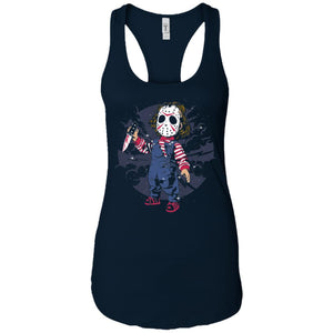 Jason Kid - Horror Art - Women's Racerback Tank Top