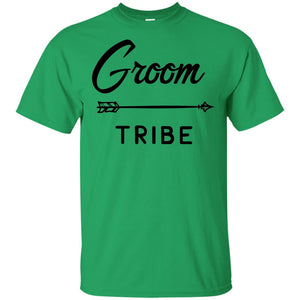2309B - RTP - Wedding Quotes - Groom-Tribe - Adult Unisex T-Shirt