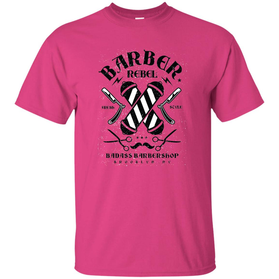 105 - RTP - Roach Graphics - Barber Rebel Ii-01 - Adult Unisex T-Shirt