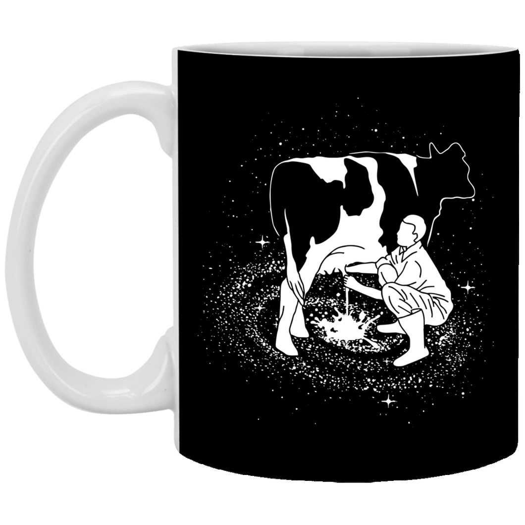Milky Way - Animal Art - 11 oz. White Mug - 62