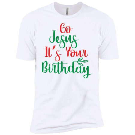 Go Jesus Its Your Birthday Christmas T-Shirt