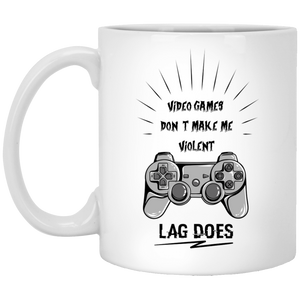 727 - RTP - Maria Funny Bundle - Violent Games - XP8434 11 oz. White Mug