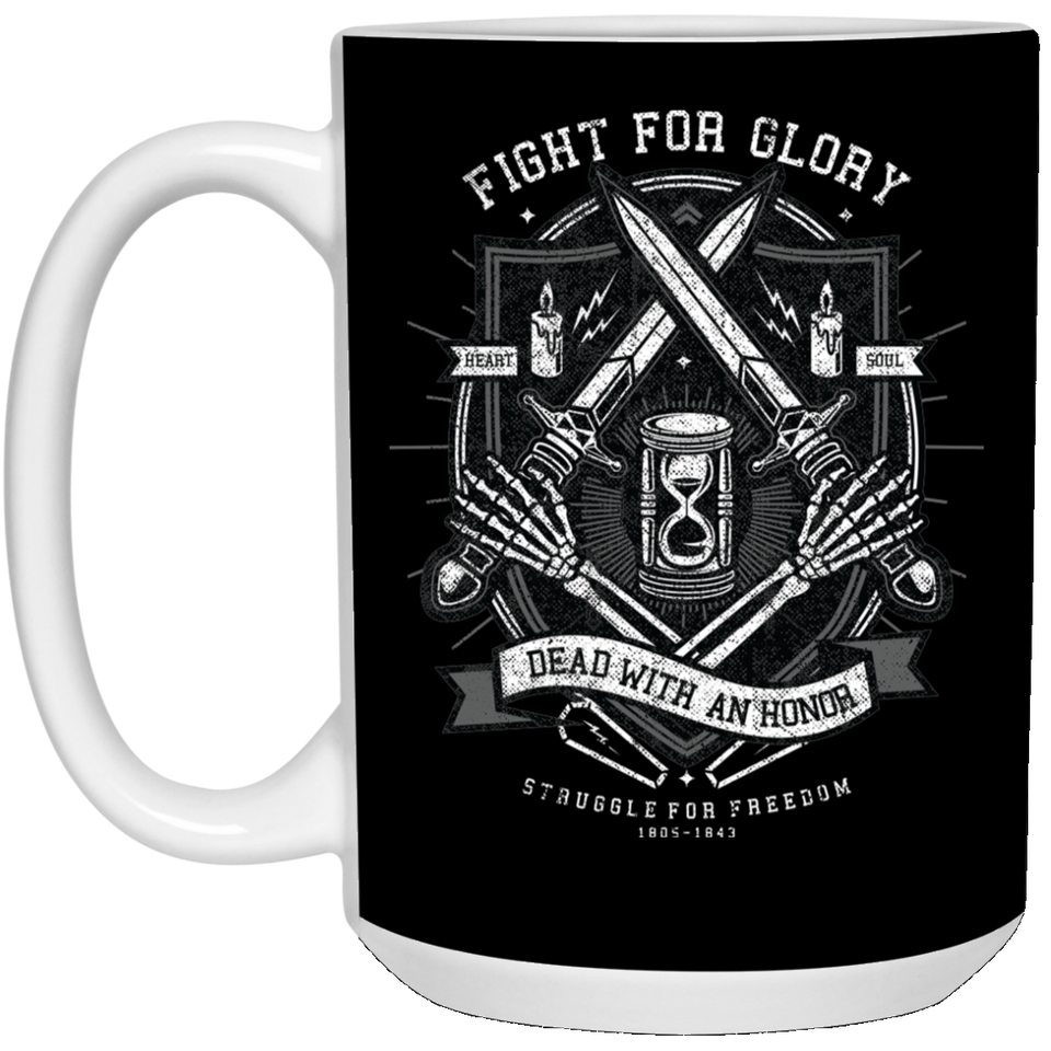 Fight For Glory - Food Art - 15 oz. White Mug - 143