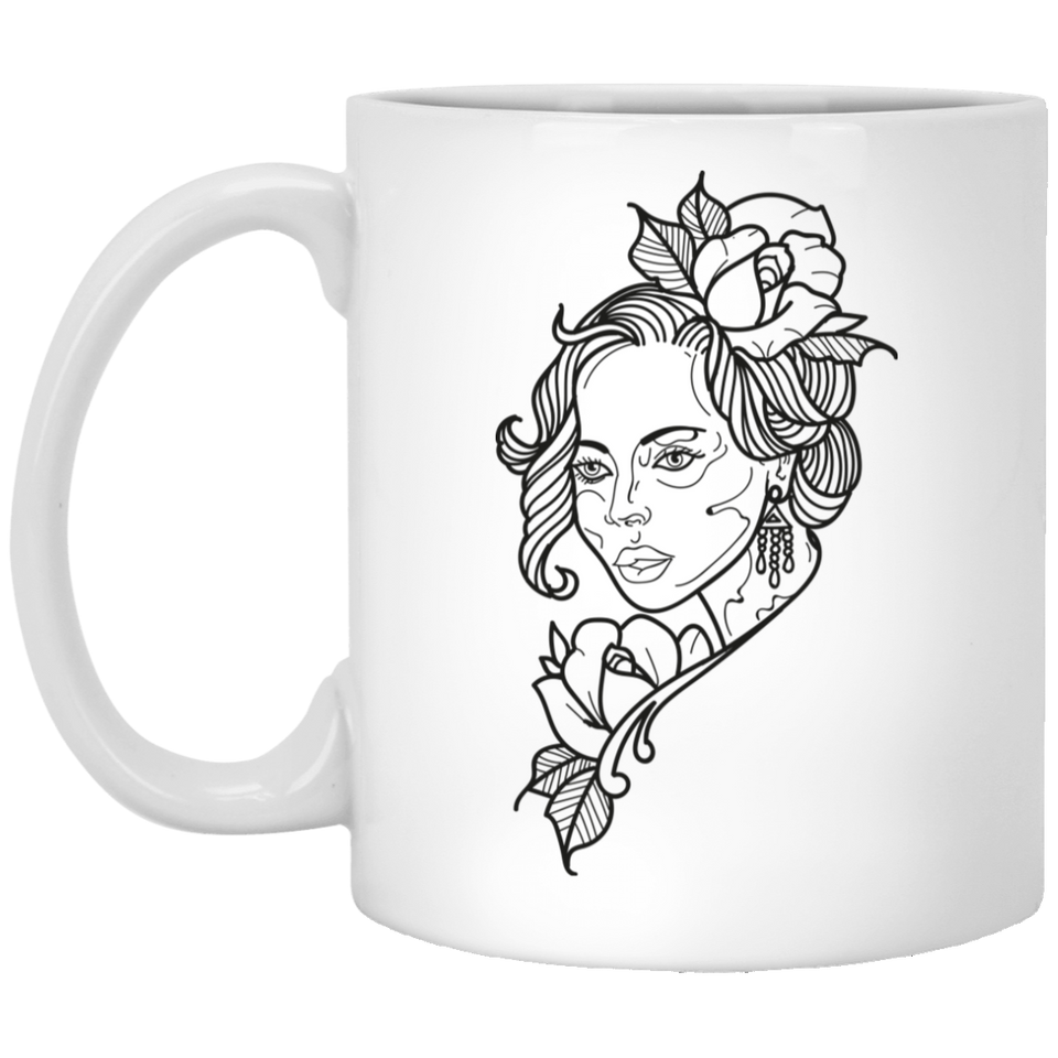 Diva - Tattoos Art - 11 oz. White Mug - 415
