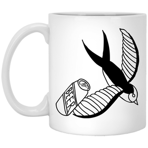 Beer - Tattoos Art - 11 oz. White Mug - 380