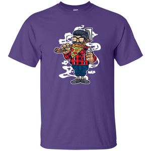 206 - RTP - Roach Graphics - Pizza Beard-01 - Adult Unisex T-Shirt