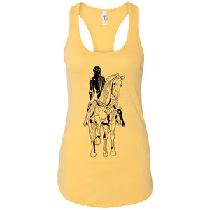 Horse - Tattoos Art - Women's Racerback Tank Top
