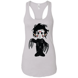 Edward - Movies Art - Women's Racerback Tank Top