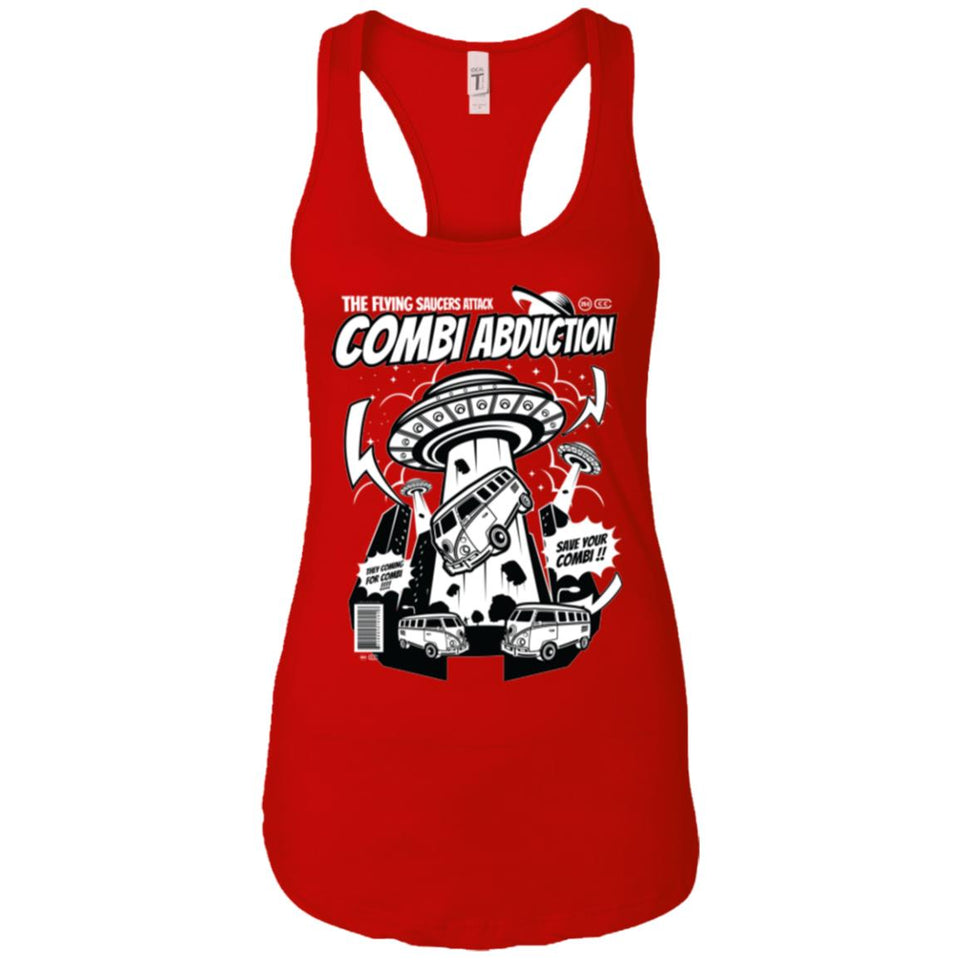 Combi Abduction - Ufo Art - Women's Racerback Tank Top
