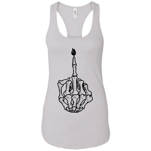 F you - Tattoos Art - Women's Racerback Tank Top